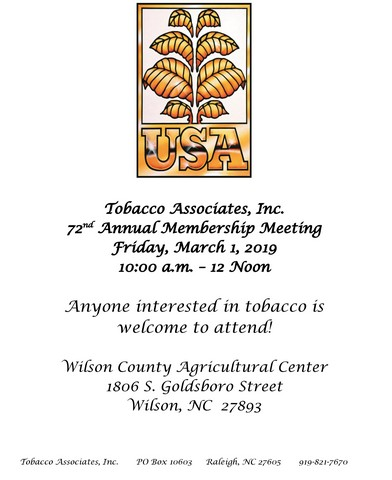 2019 Annual Meeting Notice