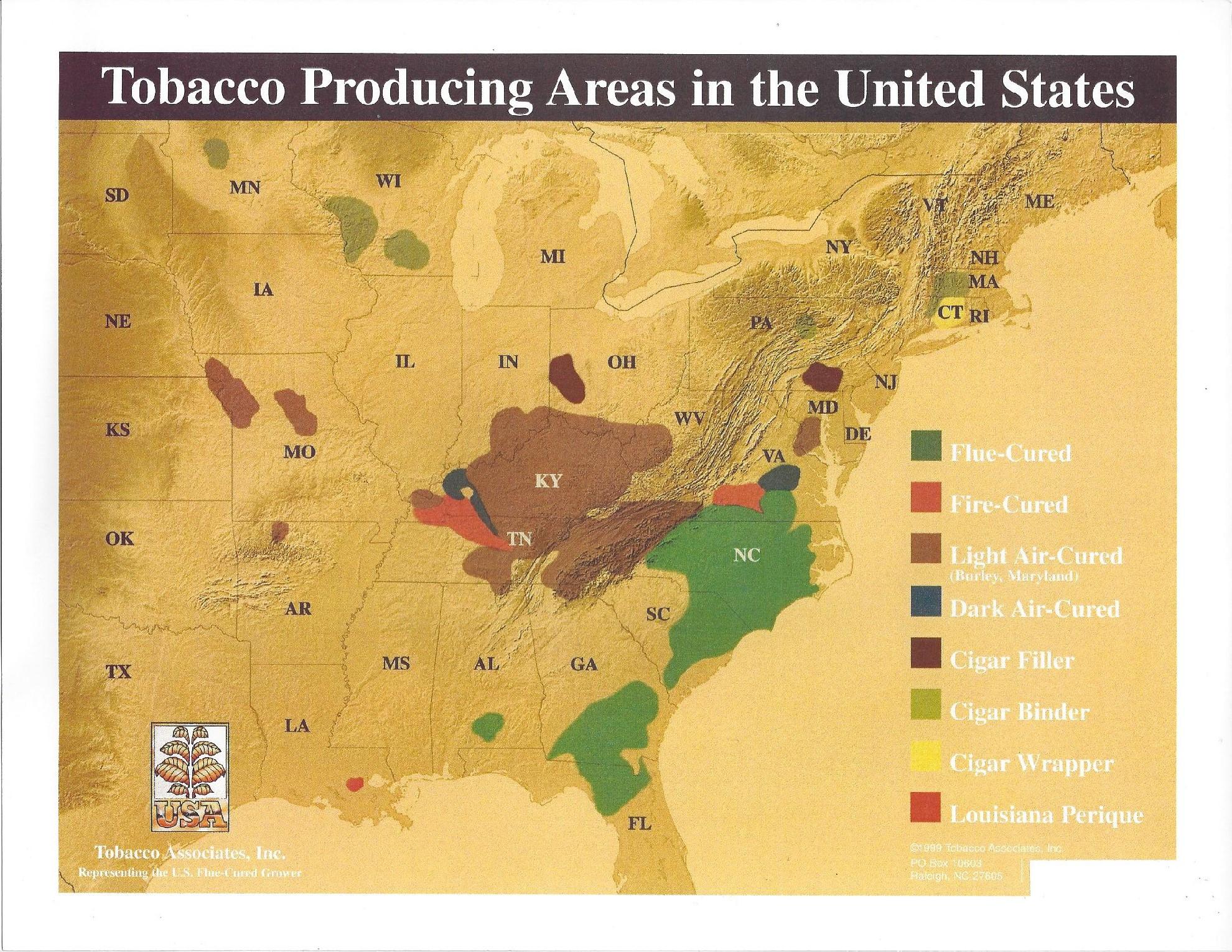Tobacco in the United States - Wikipedia