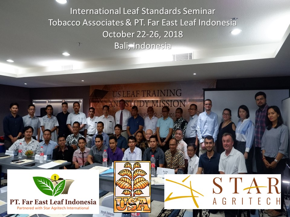 International Leaf Standards Seminar in Indonesia